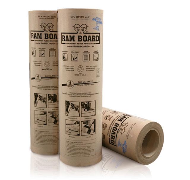 Ram Board Is A Heavy-duty, Temporary Floor Protection